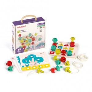 Joc Educativ pentru motricitate si creativitate Eco Mozaic
