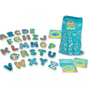 Joc in limba engleza Supa cu litere Melissa and Doug