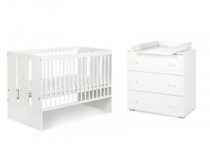 Mobilier Camera copii Si Bebelusi KLUPS PAULA Alb