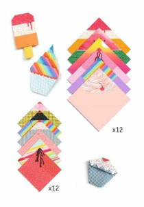 Origami Djeco, inghetata