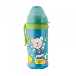 Pahar cu supapa silicon CoolFrends Aqua 360ml.10L+ Rotho-babydesign