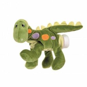 Papusa de mana dinozaur