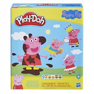 PLAY-DOH SET PEPPA PIG PLASTILINA CU ACCESORII