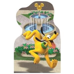 Puzzle 4 in 1 - Plimbare prin oras cu Mickey si prietenii (54 piese)