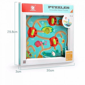 Puzzle labirint - Crocodilul