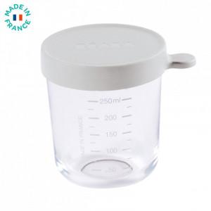 Recipient ermetic sticla 250ml - Gri