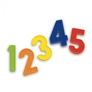 Set 48 cifre magnetice