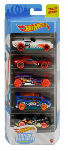 SET 5 MASINUTE HOT WHEELS TRACK STARS