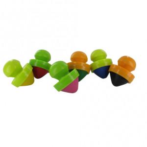 Set 6 creioane cu suport ergonomic pentru incepatori