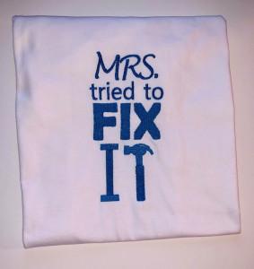 Set brodat Fix It