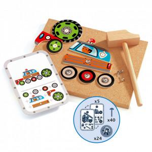 Vehicule de asamblat Tap Tap Djeco