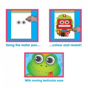 Water Magic: Carte de colorat Ghici cine-i acolo?
