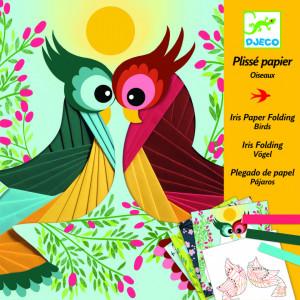 Atelier creativ cu hartie plisata Pasari