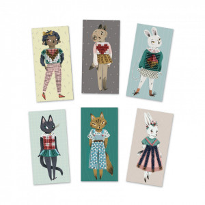 Atelier Djeco cu margele, hainele pisicutelor