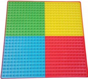 Blat Lego Multifun 42.5x42.5 cm Multicolor