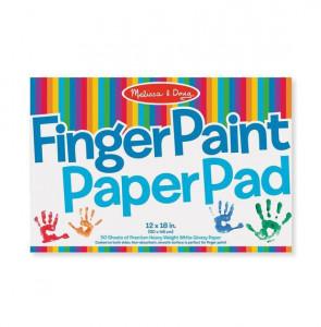 Bloc de desen pentru pictura cu degetele Melissa and Doug