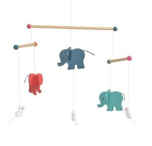 Elefanti, Decoratie mobil lemn, Egmont