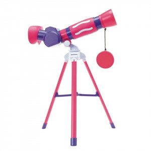 GeoSafari - Primul meu telescop (roz)