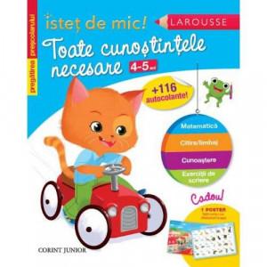 Istet de mic - Toate cunostintele necesare 4-5 ani - Carte povesti pentru copii