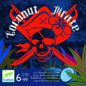 Joc de observatie Djeco, Coconut pirate