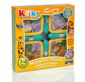 Kliky Puzzle Magnetic Animale Safari