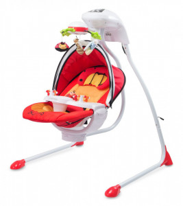 Leagan electric Caretero BUGIES Red