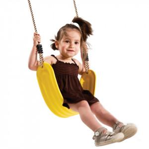 Leagan flexibil din plastic PP galben