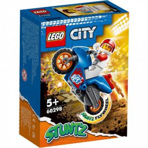 LEGO CITY MOTOCICLETA DE CASCADORIE-RACHETA 60298