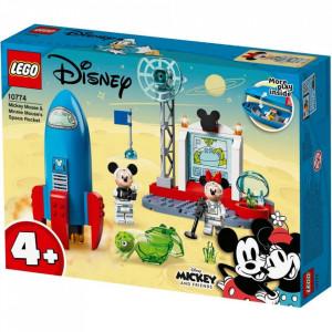 LEGO MICKEY AND FRIENDS RACHETA SPATIALA A LUI MICKEY MOUSE SI MINNIE MOUSE 10774