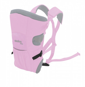 Marsupiu bidirectional Asalvo BABY CARRIER Pink 2020