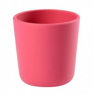 Pahar silicon roz