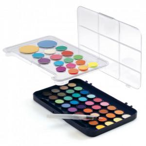 Paleta artistului, 50 de culori guase, Djeco
