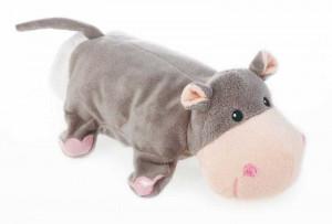 Papusa de mana hipopotam
