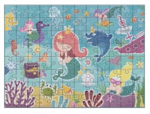 Puzzle - Sirene jucause (96 piese)