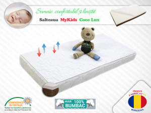 Saltea MyKids Coco Lux 127x63x11(cm)