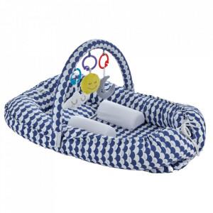 Salteluta Baby Nest cu bara jucarii Between parents