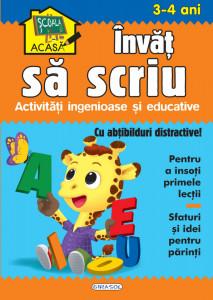 Scoala acasa - Invat sa scriu 3-4 ani