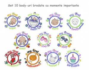 Set 10 body-uri cu momente importante