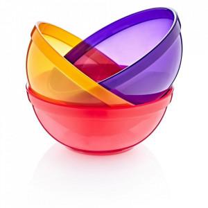Set 3 boluri colorate pentru copii BabyJem