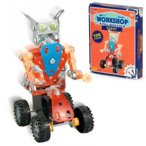 Set constructie - Robotel cu roti