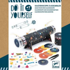 Set creativ DIY Djeco, Cum sa creezi un caleidosco