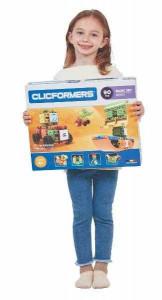 Set de construit Clicformers-Basic 90 piese