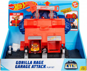 SET DE JOACA HOT WHEELS GORILA GARAJ