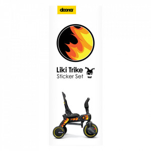 Set Stickere Liki Trike Flames