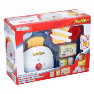 Toaster cu accesorii mic dejun Eddy Toys