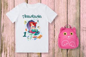 Tricou Personalizat Micuta sirena