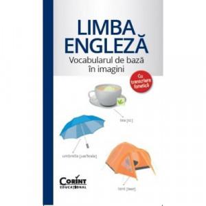 Vocabularul de bază în imagini - Limba engleză - Carte povesti pentru copii