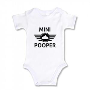 Body Bebe Personalizat Mini Pooper