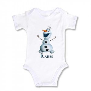 Body Bebe Personalizat Olaf