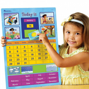 Calendar educativ magnetic